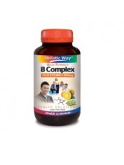 Holistic Way B Complex plus Vitamin C 500mg, 60 VegiCaps